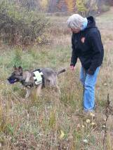 K9 Cora and Handler Patti (in training)