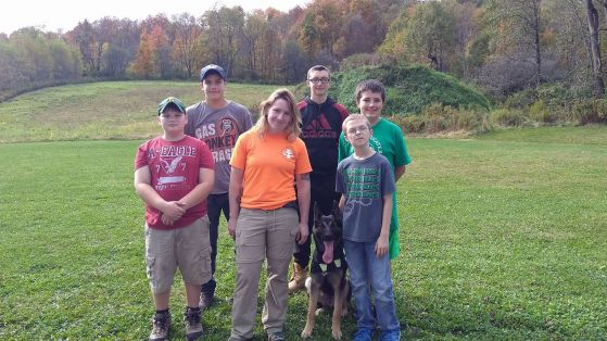 boyscouts search and rescue k9 kara dog training k9 addict