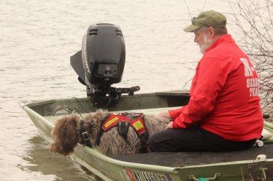 search dog boat work binghamton ny